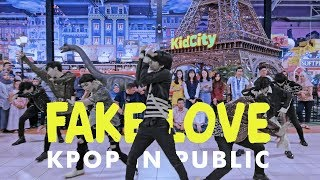 Video [KPOP IN PUBLIC CHALLENGE] BTS (방탄소년단) _ 'FAKE LOVE' Dance Cover by BYF from Indonesia MP3, 3GP, MP4, WEBM, AVI, FLV April 2019
