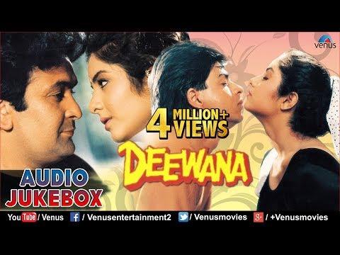 Video Deewana - 90's Romantic Songs | Shahrukh Khan, Rishi Kapoor, Divya Bharti | JUKEBOX | Hindi Songs download in MP3, 3GP, MP4, WEBM, AVI, FLV January 2017