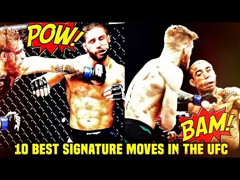 10 Best Signature Moves In The UFC