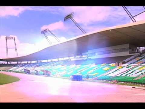 Preparaciones en el estadio Centenario de Armenia