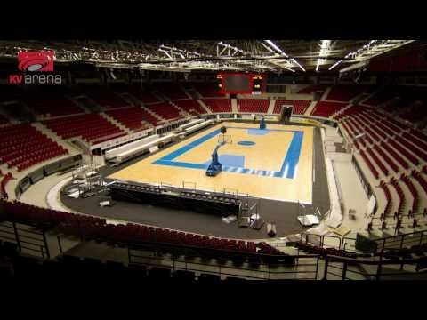 FIBA World Championship for Women - KV Arena from ice to basketball