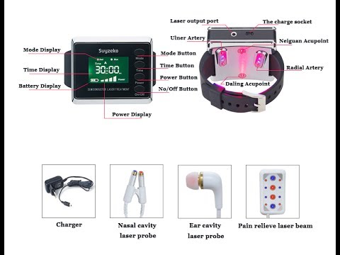 New laser watch red cell test