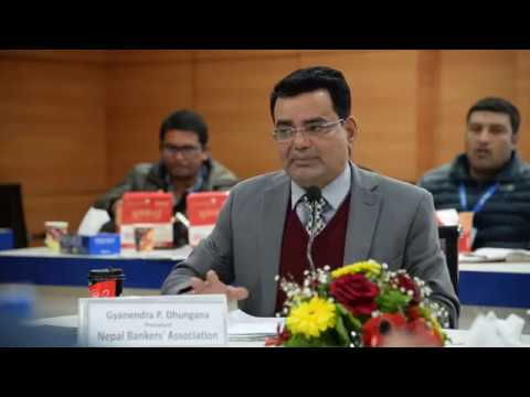 (Gyanendra P. Dhungana, President, Nepal Bankers' ...4 minutes, 50 seconds.)