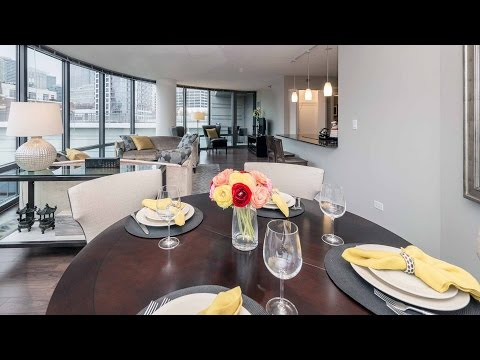A wonderful River North 2-bedroom, 2-bath at Kingsbury Plaza apartments
