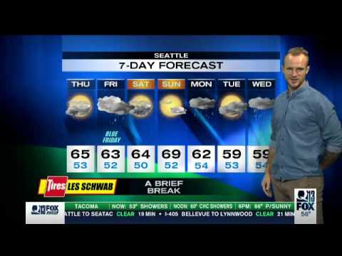 Video: Stefan Frei Anchors the Weather for Q13 Fox