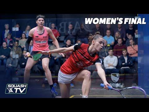 AJ Bell National Squash Championships 2020 - Women's Final Highlights - Perry v Hutton