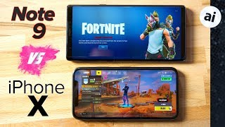 Video Fortnite: Note 9 vs iPhone X - Which phone for gaming? MP3, 3GP, MP4, WEBM, AVI, FLV Oktober 2018