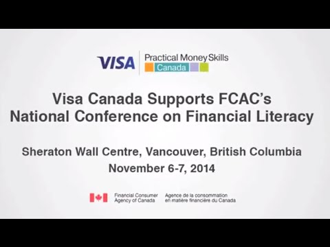 Visa Canada Supports FCAC's National Conference on Financial Literacy