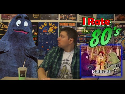 Irate the 80's Episode 12 - Uncle o' Grimacey (Mcdonaldland Character Commercial) grimacy
