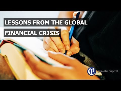 Lessons from the global financial crisis