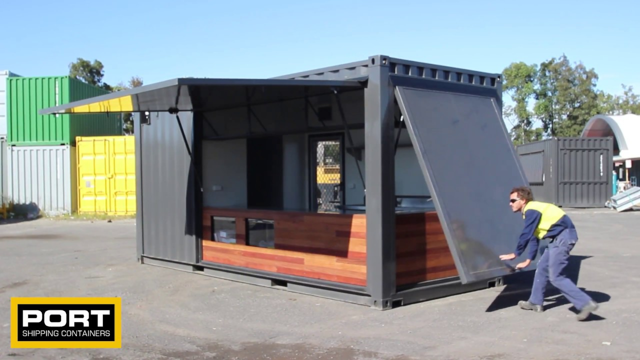 Shipping Container Cafe Shipping Container Pop Up Cafe