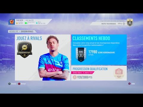 FIFA19 div rivals + Test MAJ