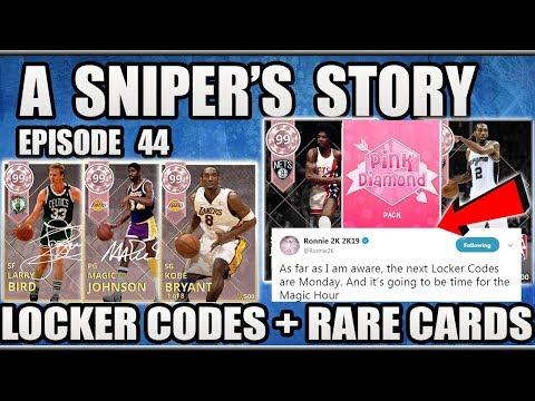 WE FOUND THE RAREST PINK DIAMONDS AND LOCKER CODE NEWS IN NBA 2K18 MYTEAM