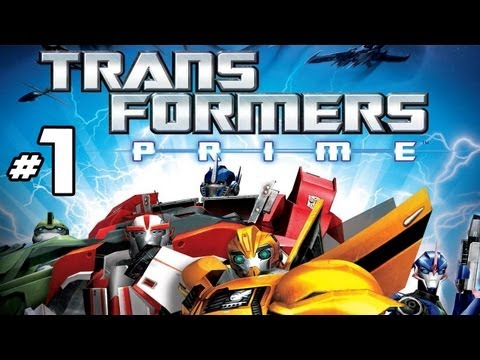 transformers prime the game wii part 1