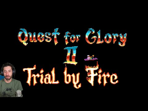 Quest for Glory II: Trial by Fire -1- Flying to NEW land!
