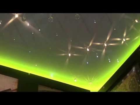 Zestaw Kryształowy Pył, montaż oświetlenia w Krakowie, projekt sufitu