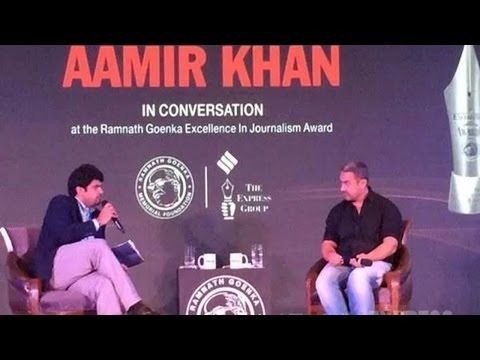 "Aamir Khan said a feeling of ""insecurity"" and ""fear"" had seeped strong within society, even in his family member"