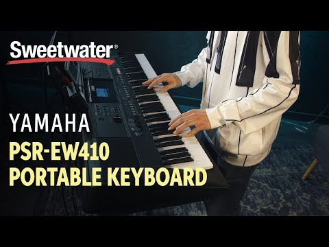 Yamaha PSR-EW410 76-key Portable Keyboard Review