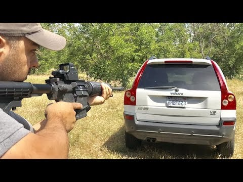 Volvo SUV Safety Test - Are Volvo's Bulletproof ?