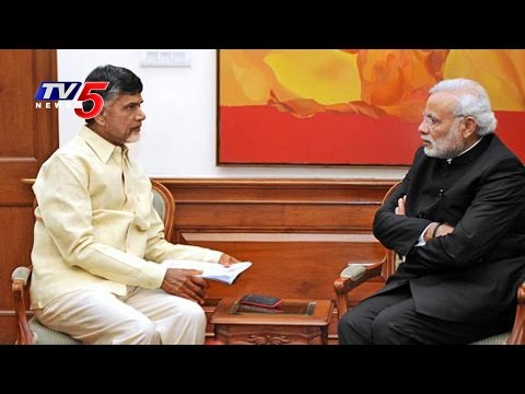 Chandrababu Naidu Meets PM Modi | Requests On Special Status And Other Developments