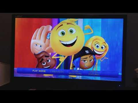 Opening To The Emoji Movie 2017 Blu-Ray