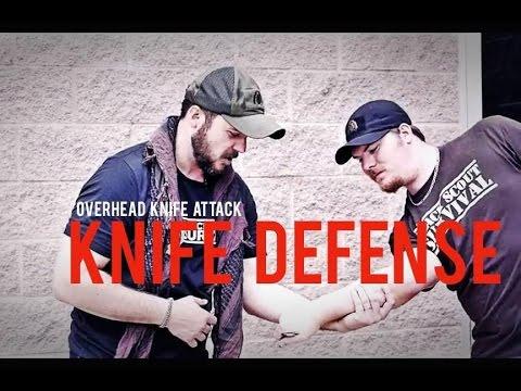 Overhand Knife Attack Defense