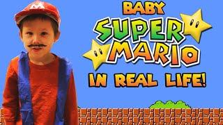 Baby Super Mario in Real Life