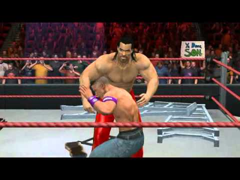 The Great Khali vs John Cena
