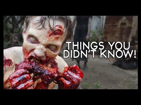 7 Walking Dead Things You (probably) Didn't Know!