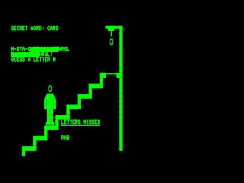 Hangman for the Commodore PET\\Commodore CBM