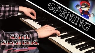 "Super Smash Bros. Melee – ""Opening"" (Piano Cover)"