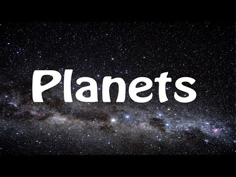 Planets Song - Learn the Planets - Poor Old Pluto!