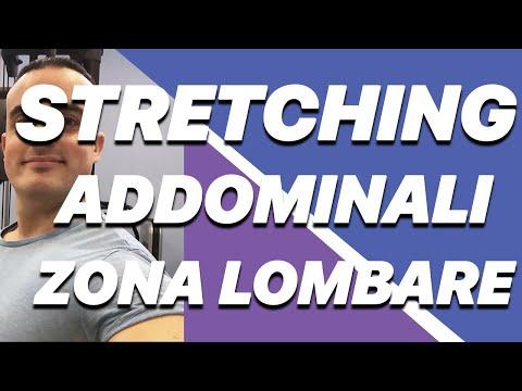 Stretching Addominali e Zona Lombare