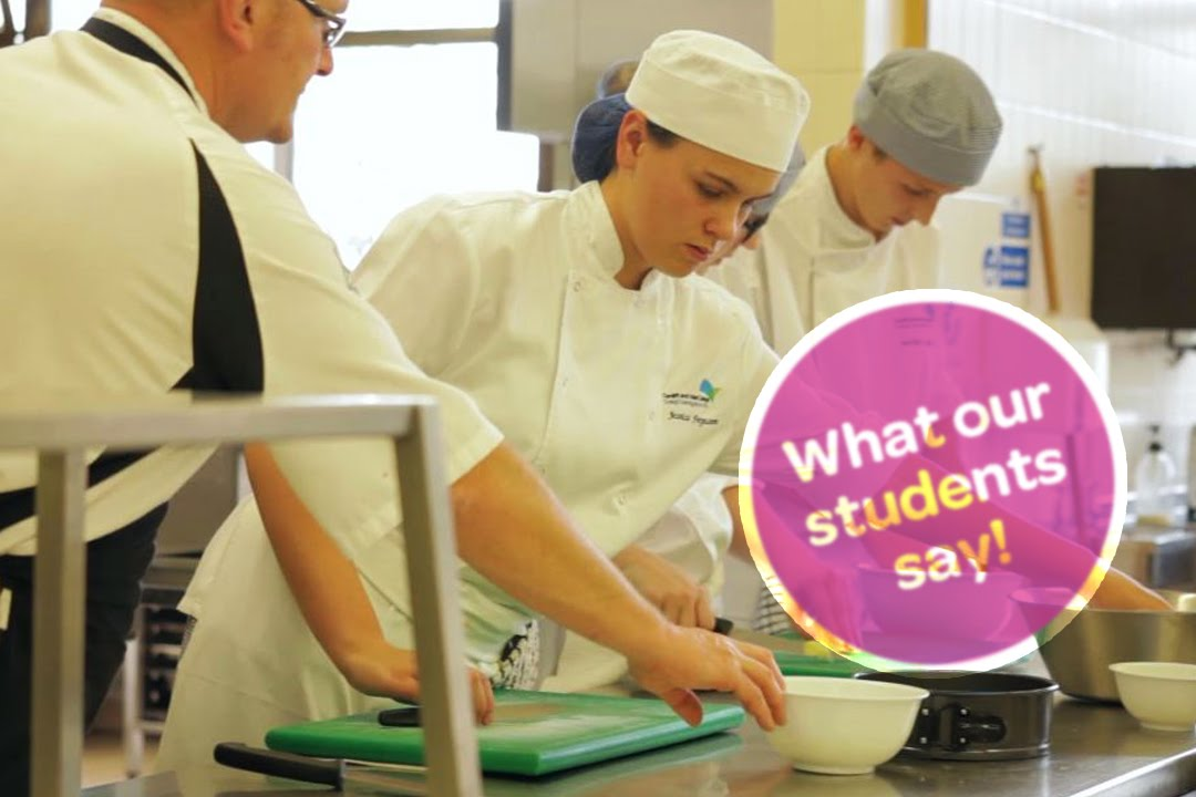 CAVC: What our students say - Catering & Hospitality
