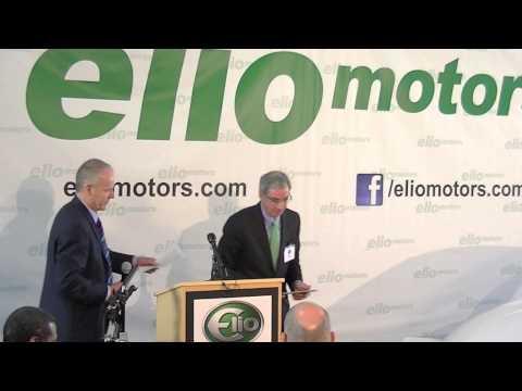 Full Elio Motors press conf.: The Elio N. American supply chain, new