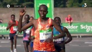 Video Marathon de Paris 2018 : Lonyangata et Betsy arrivent en même temps après un finish haletant ! MP3, 3GP, MP4, WEBM, AVI, FLV Juli 2018
