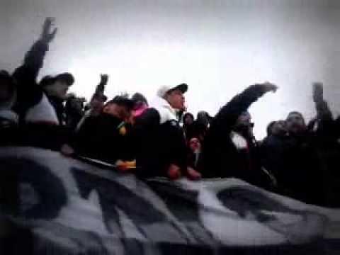 Hinchada de Danubio vs cerro / Apertura 2015/2016 - Los Danu Stones - Danubio