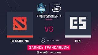 Team Slamdunk vs Wolf, ESL One Birmingham NA qual, game 1 [Lum1Sit]