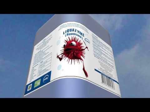 Видео Биопрепарат ЛИКВАЗИМ для устранения запахов из канализации, глубокой очистки труб и сточных вод