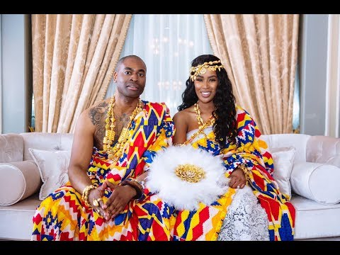 Ghanaian traditional wedding Lloyd & Louisa