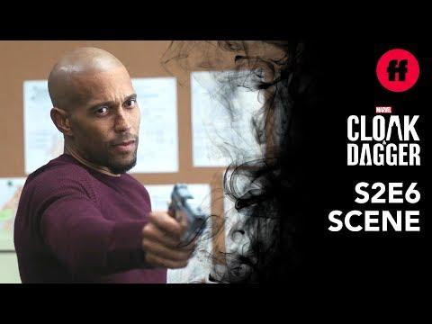 Marvel's Cloak & Dagger Season 2, Episode 6   Andre Shoots Tyrone   Freeform