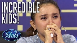Video FANTASTIC KIDS | Incredible Indonesian Idol Junior Auditions! | Idols Global MP3, 3GP, MP4, WEBM, AVI, FLV April 2019