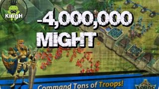 Lords Mobile: I Was Attacked 150k Troops Destroyed