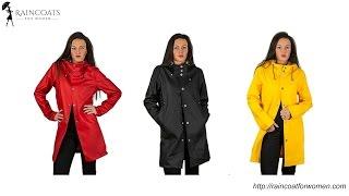 Womens Rain Coat: Handmade Fisherman Raincoat - Raincoat for Women