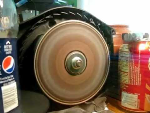 En CD-skiva i rörelse