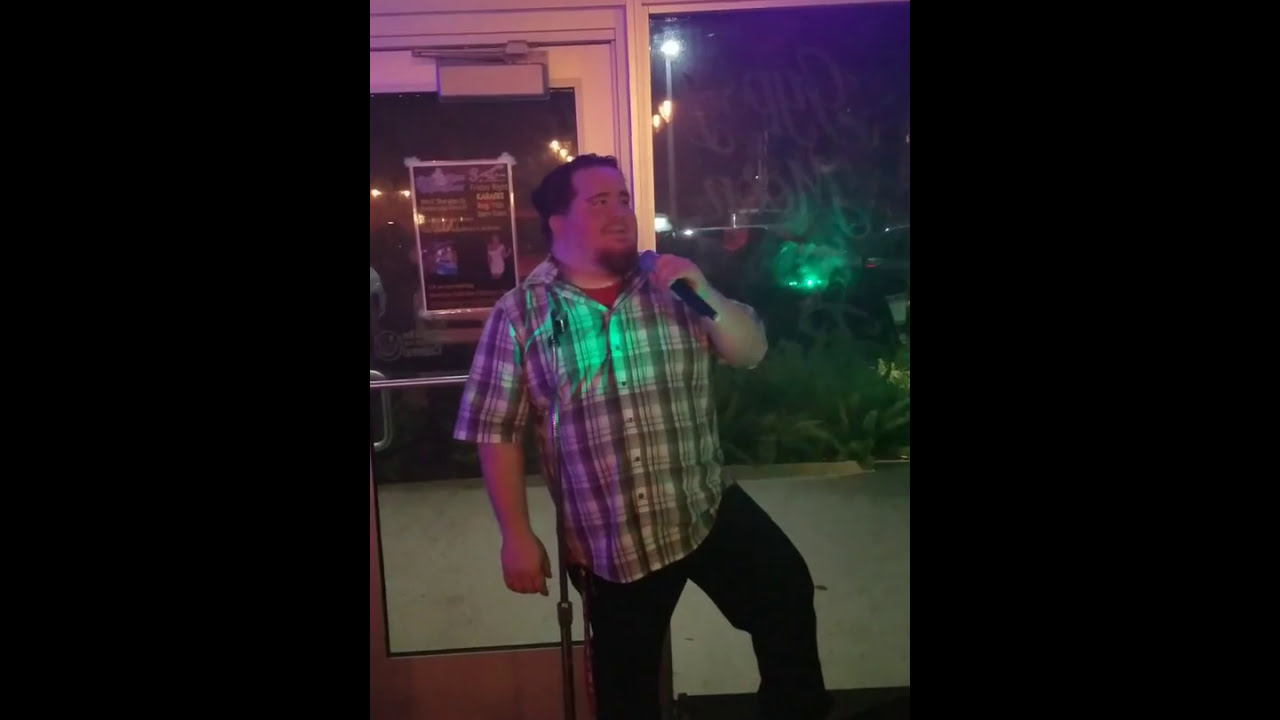 Eric song 2 @ Gypsy Moon Vapin Brews singing karaoke