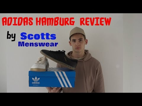 SCOTTS - ADIDAS HAMBURG BLACK & WHITE REVIEWS