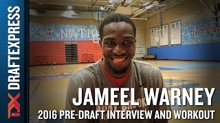 Jameel Warney 2016 NBA Pre-Draft Workout Video and Interview
