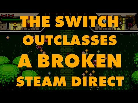 Steam Isn't Fine: Indie Game Performs 20 Times Better On Switch Than Steam