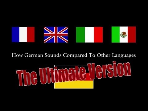 How German Sounds Compared To Other Languages (Ultimate / Full Version)    CopyCatChannel